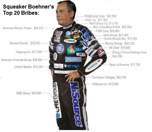 Boehner bribes