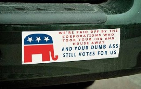 GOP dumb voters