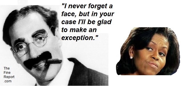 Groucho on michelle obama