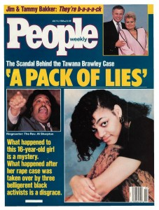 Sharpton People cover scandal
