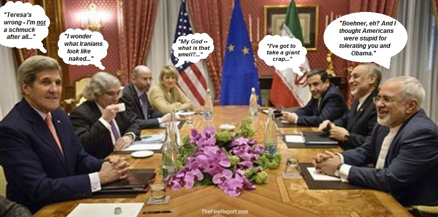 Iran negotiating table
