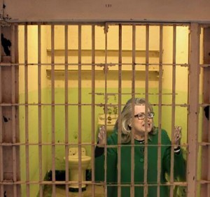 Hillary Clinton in jail