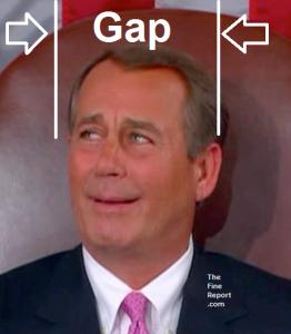 Boehner gap