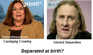 Candypig crowley and Gerard Depardieu