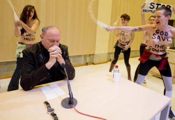 BELGIUM-POLITICS-GAY-DEMONSTRATION