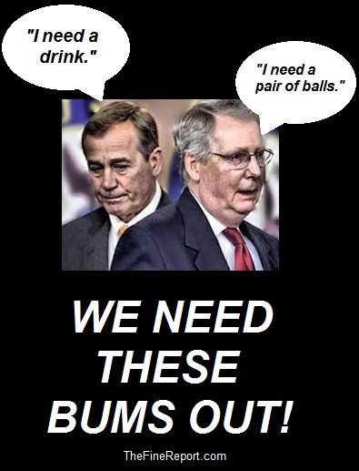 We need these bums out