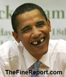 Obama milllion dollar smile