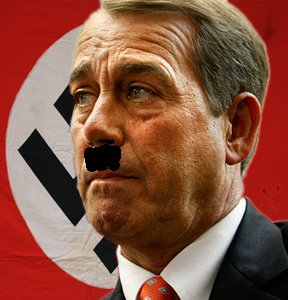 Boehner as hitler