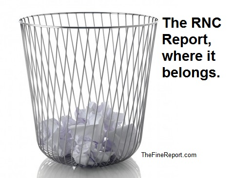 Waste basket RNC report