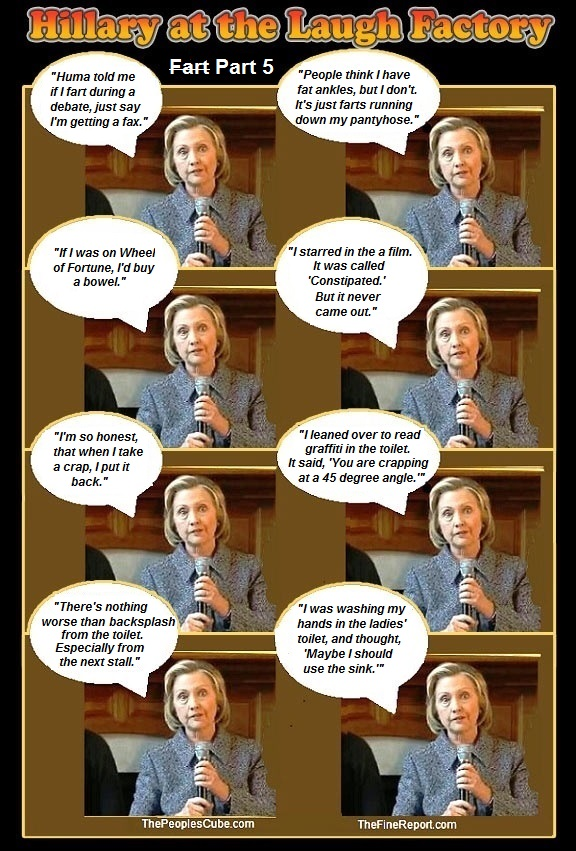 Hillary at the laugh factory part 5