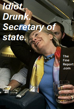 Idiot drunk secy of state