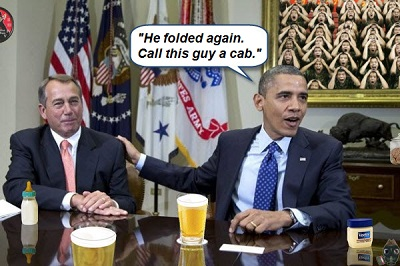 Boehner and Obama sell out smaller