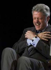 Bill Clinton laughing edited