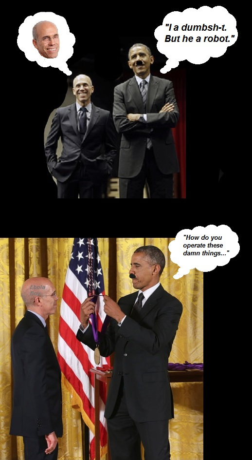 KATZENBERG AND OBAMA