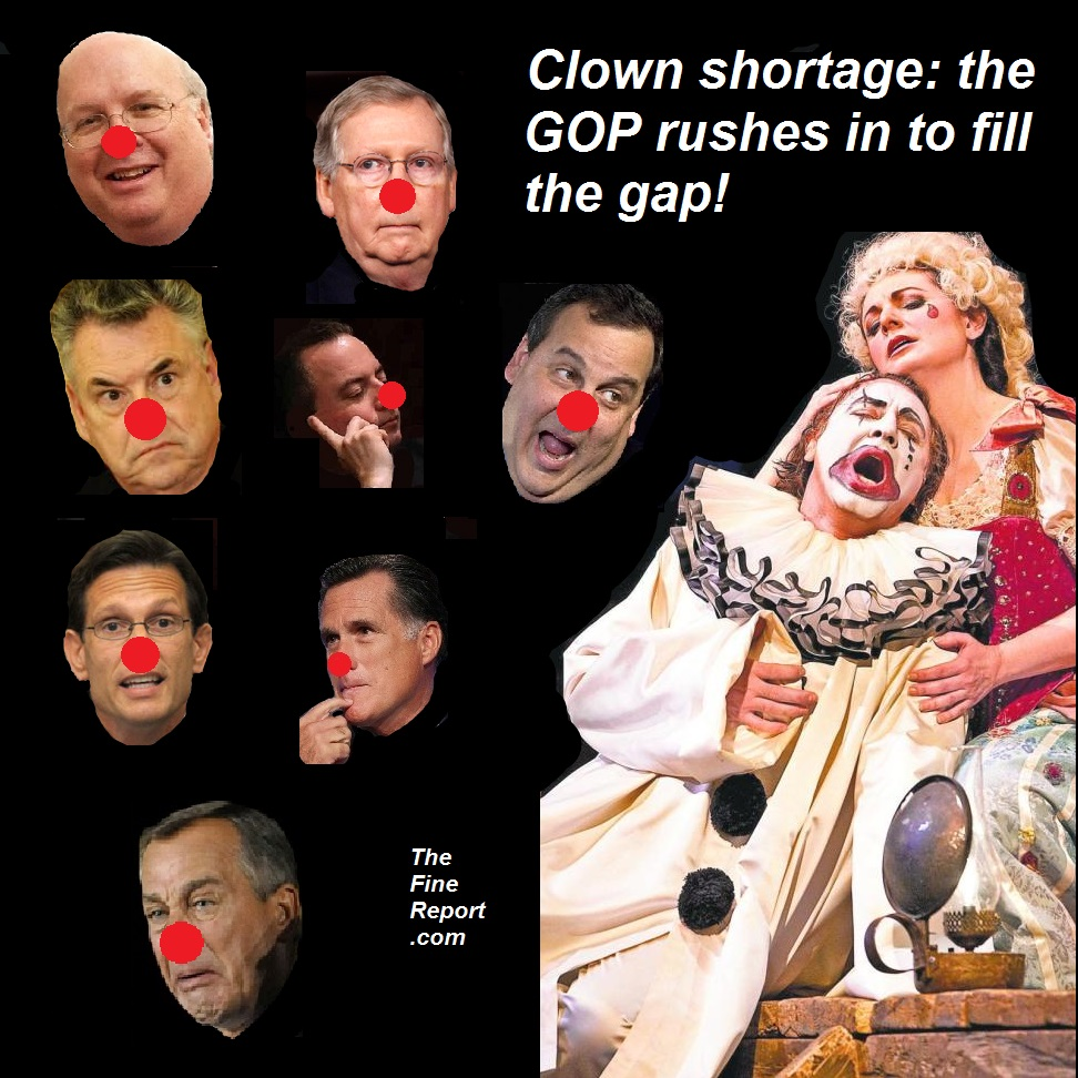 Clown shortage