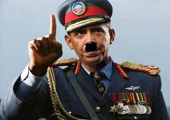 El presidente with hitler moustach