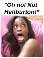 Crazy black chick Haliburton