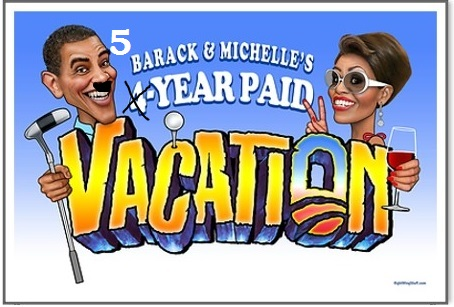 Obama 4 year vacation edited
