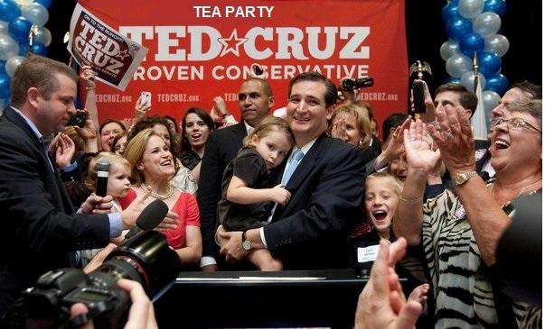Ted Cruz - tea party