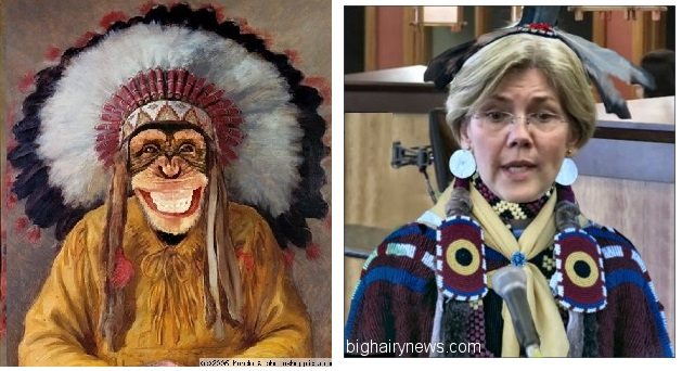 Warren and monkey chief