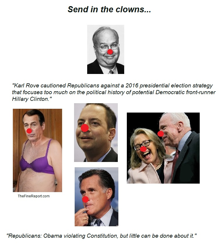 GOP clowns