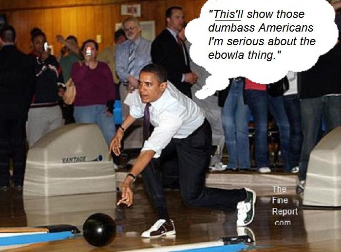 Obama ebowling