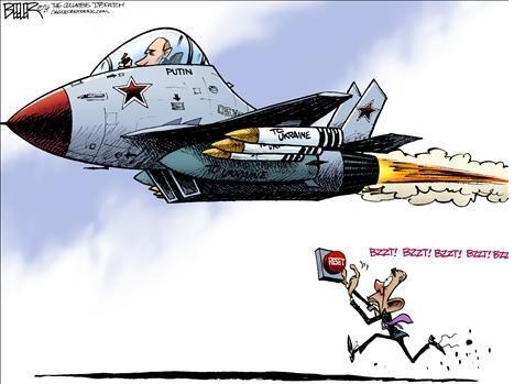Putin and reset button