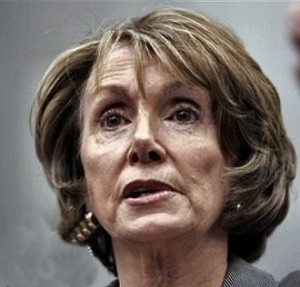 Pelosi without makup trowel