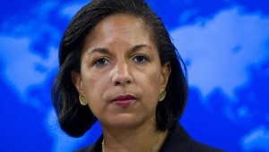 Susan Rice head up her ass