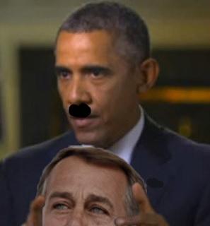 Boehner's head
