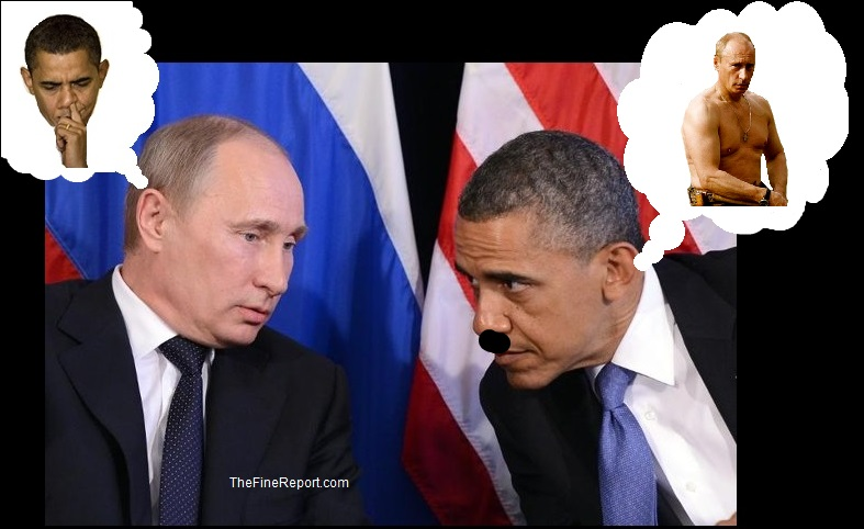 Putin and Obama thoughts