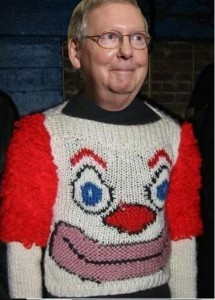 mitch_mcconnell_Clown_Sweater