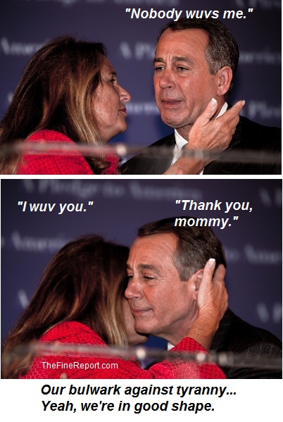 Boehner and wife Debbie