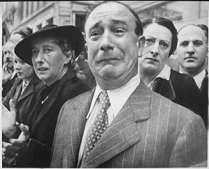 French watching Nazis march into Paris
