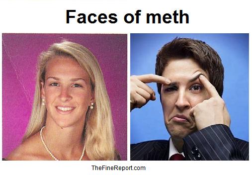 Rachel Maddow faces of meth