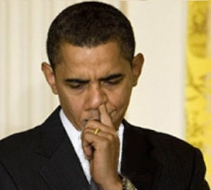Obama picking nose edited