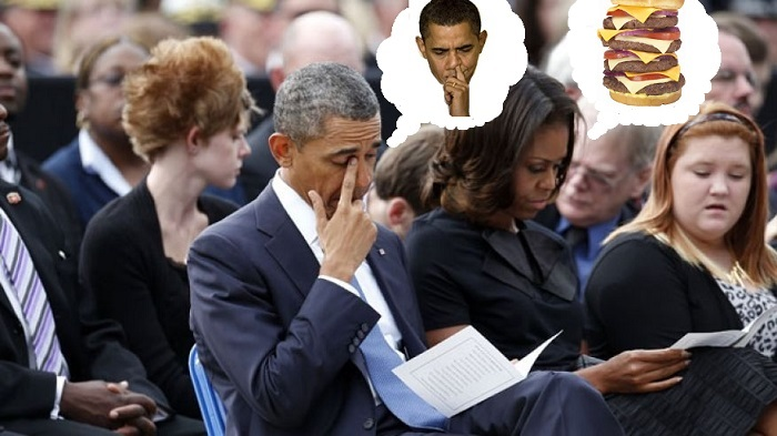 Obamas mourning