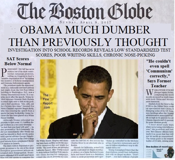 Boston globe parody