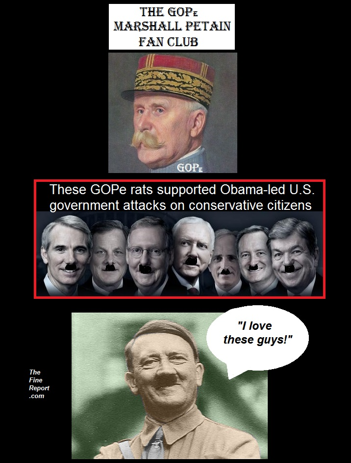 Marshall Petain and GOPe