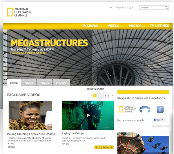 National Geographic Megastructures Michelle Obama