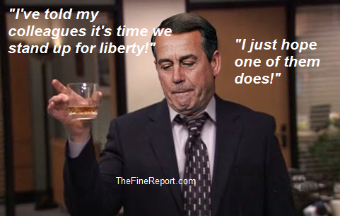 Boehner drinking liberty