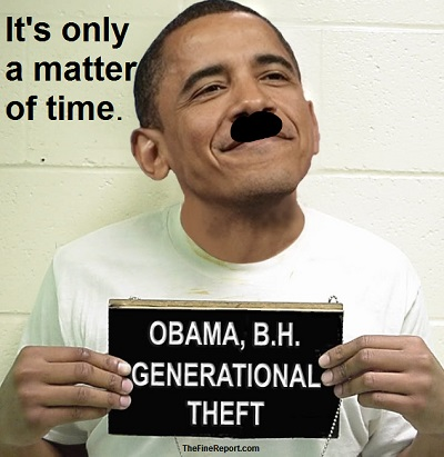Generational theft with moustache