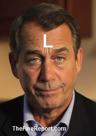 Boehner hapless with L