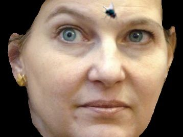 Psychobitch Victoria Nuland with fly