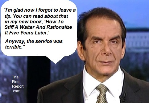 Krauthammer with bubble