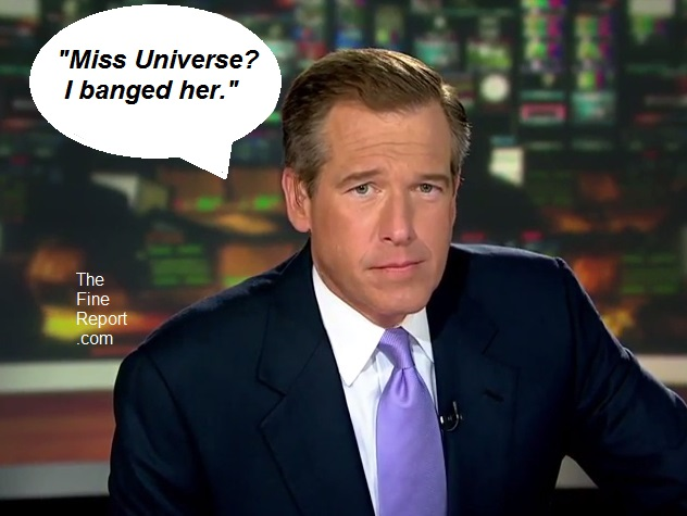 Brian Williams Miss Universe