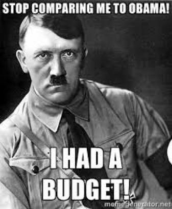 Hitler had a budget