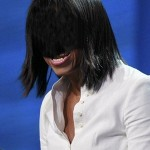 Michelle Obama bangs edited for cube