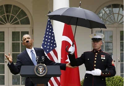 Marine umbrella
