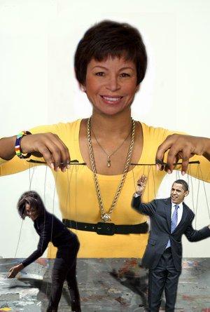 Valerie jarrett puppett